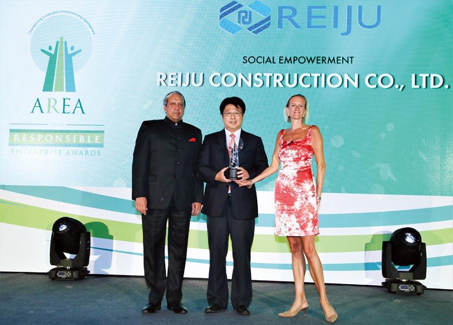 瑞助營造評價,風評企業 獲亞洲企業社會責任獎